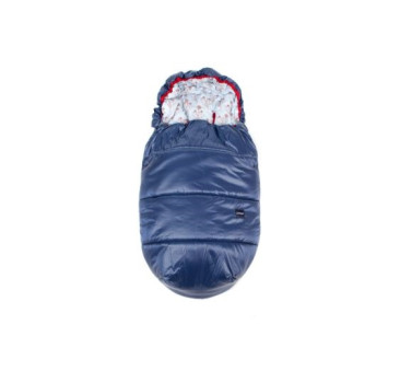 Śpiworek do wózka ( kolor: denim/osty) - 110x53 cm - Poofi
