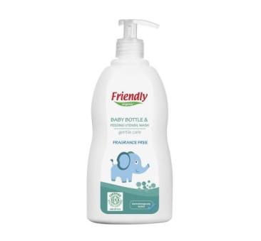Płyn do mycia butelek dziecięcych, bezzapachowy - 500ml - Friendly Organic