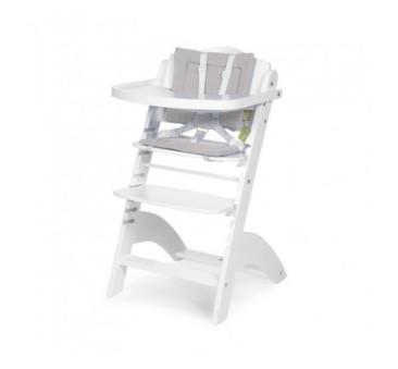 Ochraniacz - Poduszka do krzesła Lambda 2 - Childhome - frotte szary