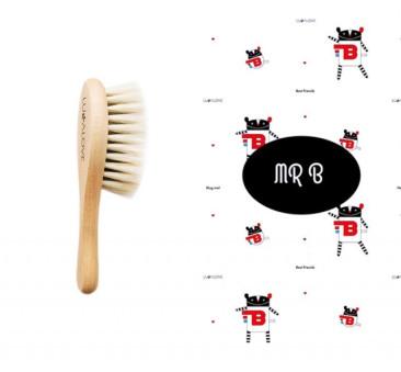 MRB - Szczotka Z Włosia Koziego I Bambusowa Myjka - LullaLove