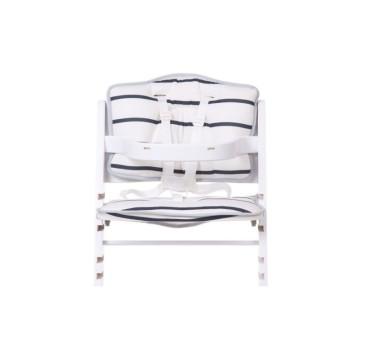 Ochraniacz - Poduszka do krzesła Lambda 2 - Childhome - jersey marine
