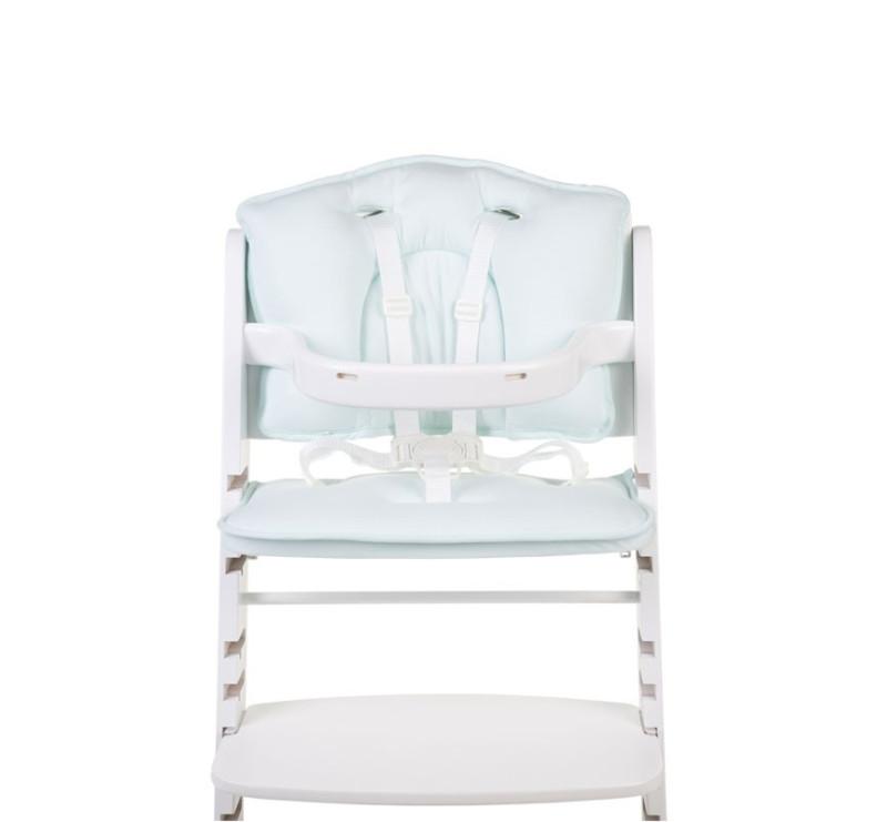 Ochraniacz - Poduszka do krzesła Lambda 2 - Childhome - jersey miętowy