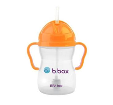 Innowacyjny kubek niekapek - neon pomarańczowy- B.BOX