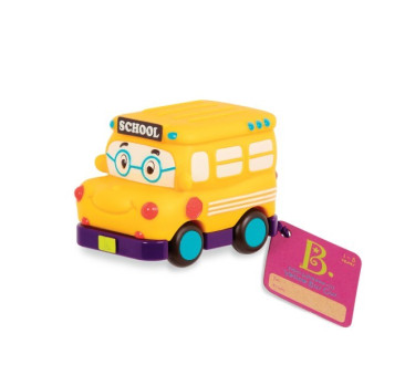 MINI AUTKO - AUTOBUS ŻÓŁTY - YELLOW BUS GUS - BTOYS