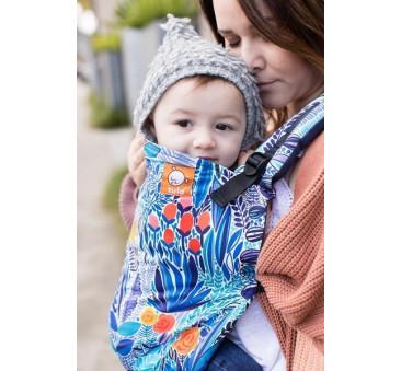 BABY TULA - nosidełko standardowe - wzór Mystic Meadow