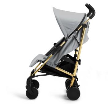 Wózek Golden Grey Stockholm Stroller 3.0 - Spacerówka - Złoto - Szary - Elodie Details - Wózek Spacerowy