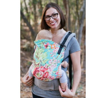BABY TULA - nosidełko standardowe - wzór Bliss Bouquet