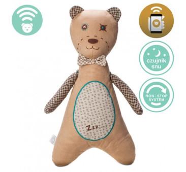 Szumiś - Maskotka Chłopiec Brązowy - Czujnik Snu - Aplikacja
