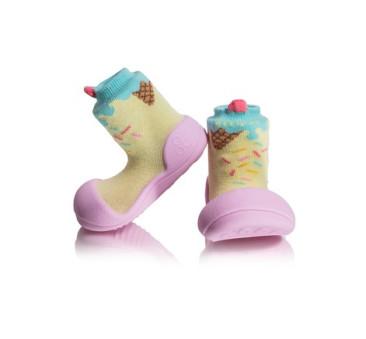 Ice Cream Pink/Różowe - rozmiar XL/22,5 - Attipas - buty/skarpetki/papcie