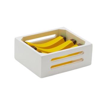 Skrzynka Z Bananami - Drewniane Banany - Owoce - Kids Concept - Montessori