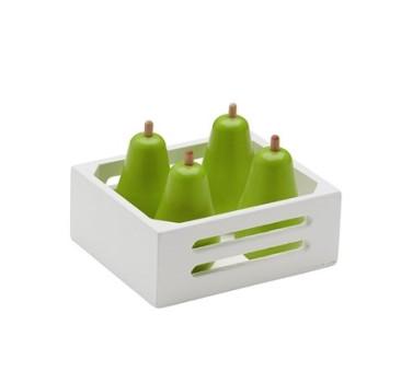 Skrzynka Z Gruszkami - Drewniane Gruszki - Owoce - Kids Concept - Montessori