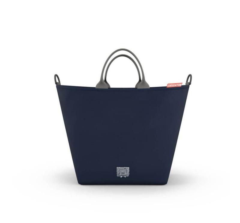 95d78261 Greentom - Shopping Bag - Torba zakupowa do wózka - niebieska