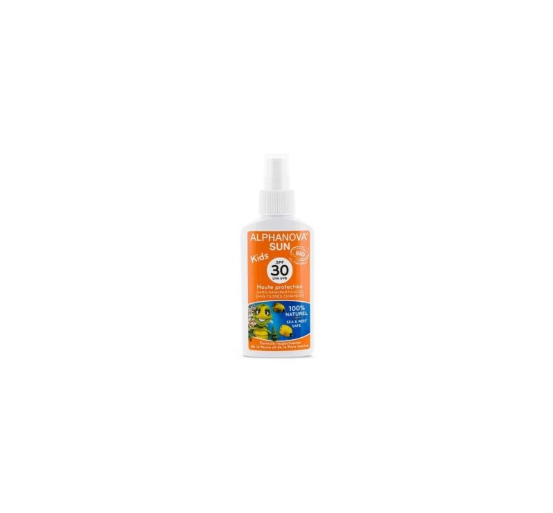 Spray Przeciwsłoneczny - filtr 30 - Bio - Alphanova Sun Kids