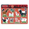Puzzle Układanka z Dźwiękiem - Zwierzątka Farma - Melissa & Doug