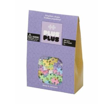 Mini Pastel - Klocki - Puzzle - 300 szt - Plus-Plus