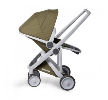 Wózek Greentom Upp Reversible - grey - olive/ szaro - oliwkowy
