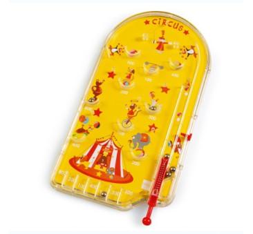 Gra Pinball Cyrk - Scratch - zabawka turystyczna
