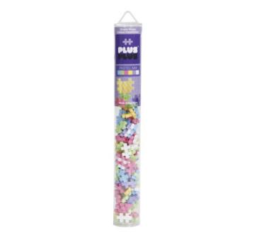 Mini Pastel - Tuba - Klocki - Puzzle - 100 szt - Plus-Plus