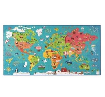 Puzzle Mapa Świata - Scratch