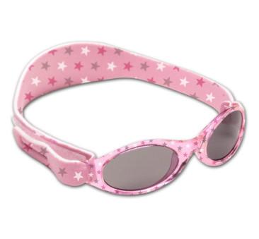 Okularki przeciwsłoneczne - Pink Stars - Dooky Banz