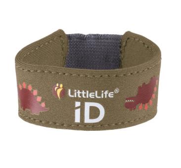 Neoprenowa opaska informacyjna LittleLife - Dinozaury