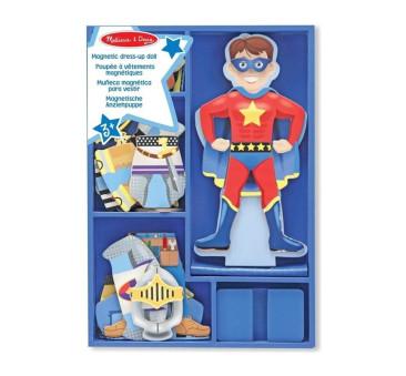 Puzzle Magnetyczne Ubieranka - Układanka - Chłopiec Joey - Melissa & Doug - Montessori