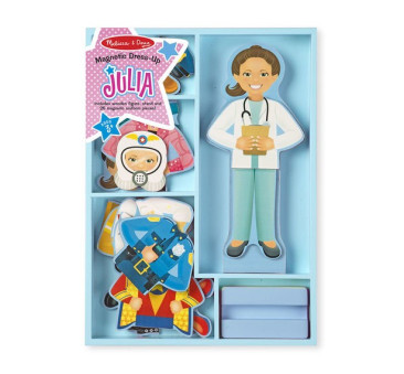Puzzle Magnetyczne Ubieranka - Układanka - Julia - Melissa & Doug - Montessori