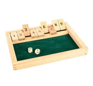 Gra Edukacyjna - Zakryj Wszystkie Liczby - Bigjigs Toys
