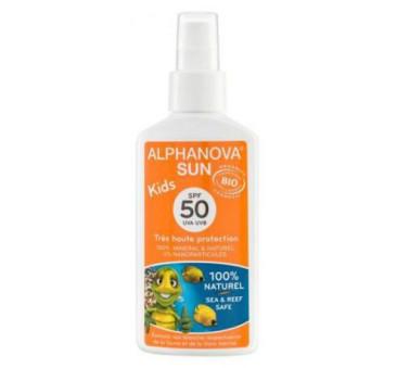 Spray Przeciwsłoneczny - filtr 50 - Bio - Alphanova Sun Kids