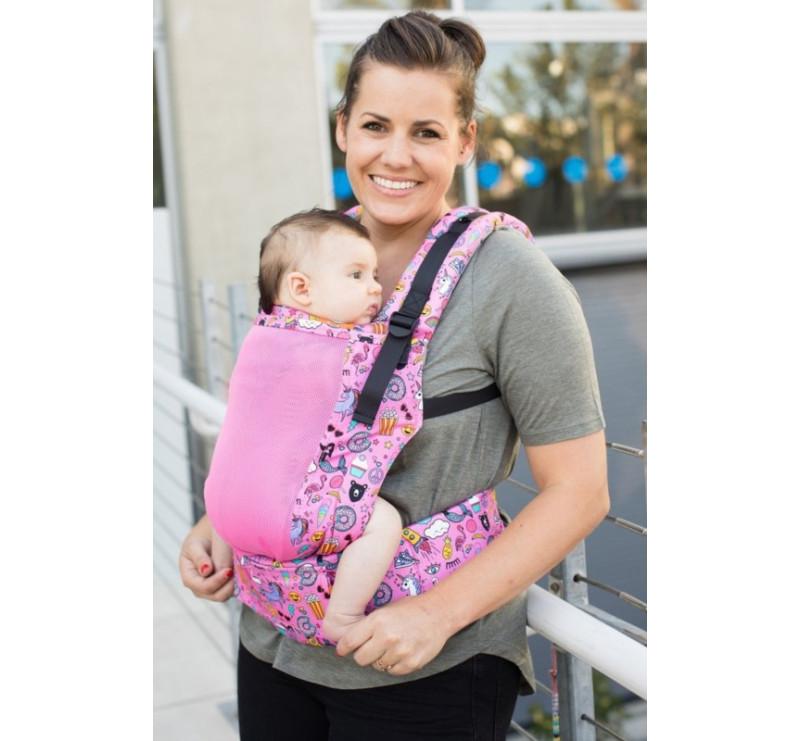 BABY TULA - nosidełko standardowe - Coast Stickers