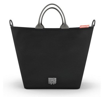 Greentom - Shopping Bag - Torba zakupowa do wózka - czarna