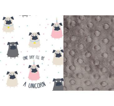 Kura Babci Dany - Grey - Doggy Unicorn - La Millou