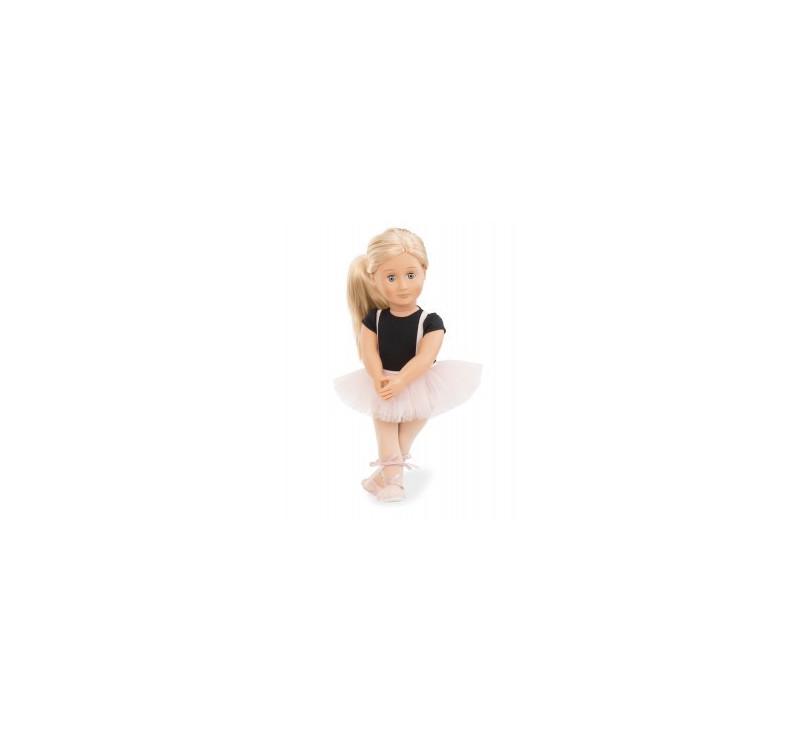 Lalka Violet Anna - Baletnica - Blondynka - 46 cm - Our Generation