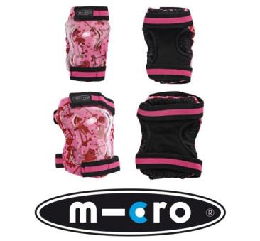 Ochraniacze - Nakolanniki i Nałokietniki - Różowe XS - Micro