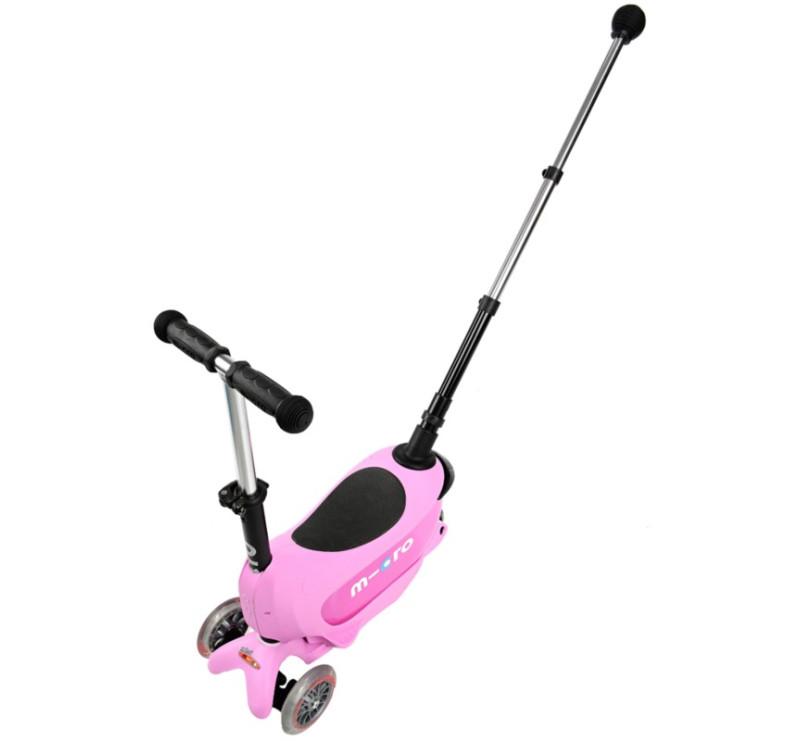 Jeździk Mini 2go Deluxe Plus Pink/Różowy - Micro