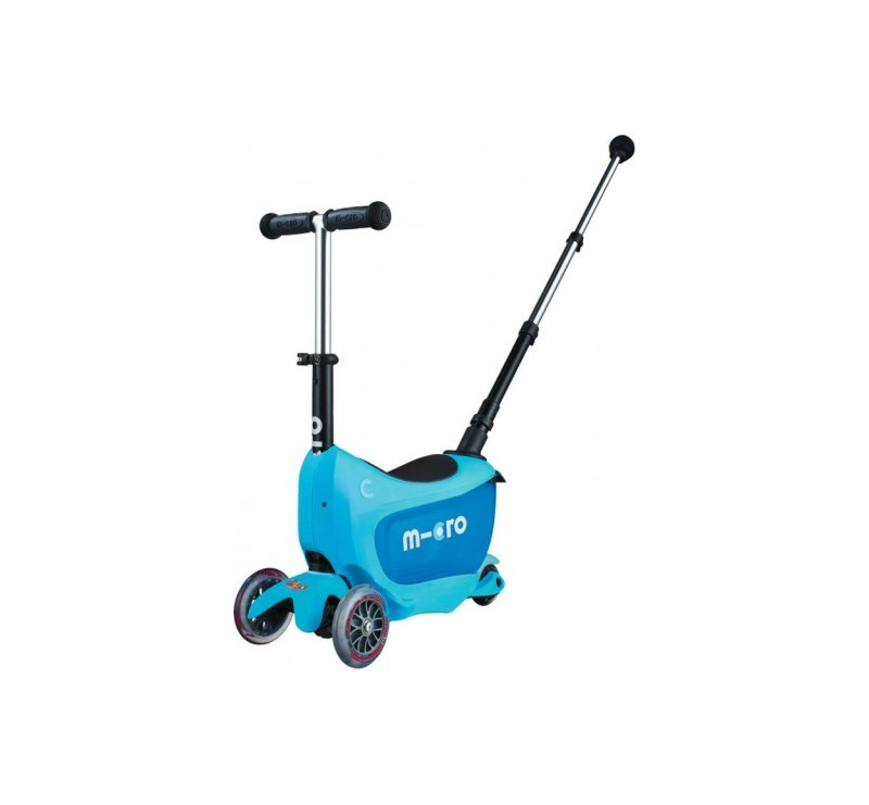 Jeździk Mini 2go Deluxe Plus Blue/Niebieski - Micro