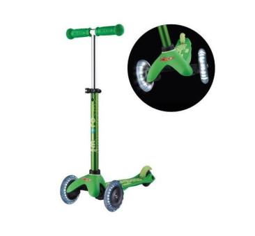 Hulajnoga Mini Deluxe LED - Green/Zielona - Micro