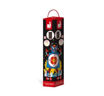 Magnetyczna gra w rzutki Roboty - Janod