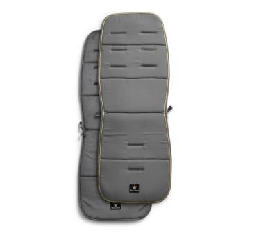 Miękka wkładka do wózka Golden Gray - szaro-złota - Elodie Details