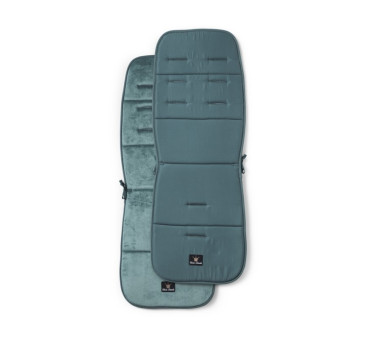 Miękka wkładka do wózka Pretty Petrol - turkusowa/niebieska - Elodie Details