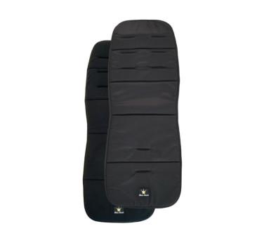 Miękka wkładka do wózka Black - czarna - Elodie Details