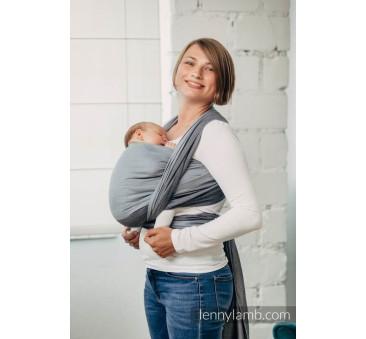 HOWLIT S - Moja pierwsza chusta do noszenia dzieci - tkana splotem skośno - krzyżowym - Rozmiar S (4,2 metra) - LennyLamb