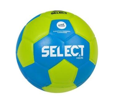 Select piłka ręczna piankowa 42 cm zielono - niebieska KIDS IV