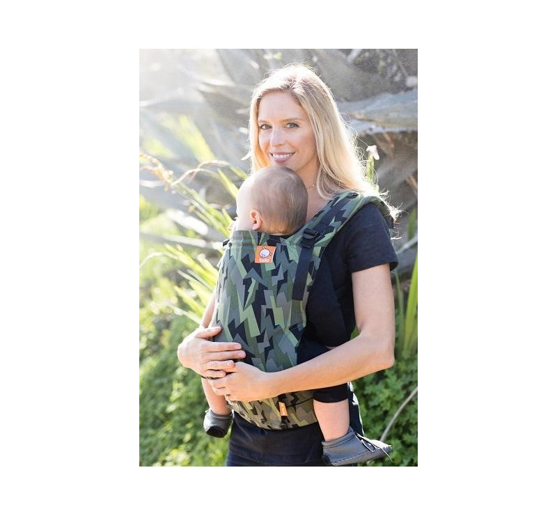 BLACK LIGHTNING - regulowane nosidełko ergonomiczne - tula free-to-grow