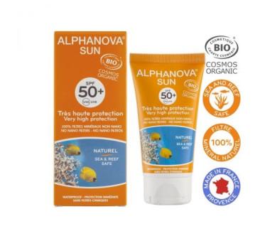 Krem Przeciwsłoneczny - filtr SPF50 - Alphanova Sun Bio