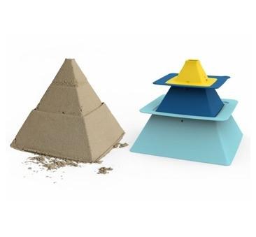Foremki Pira Vintage Blue + Deep Blue + Mellow Yellow - Do Budowy Piramid - Quut