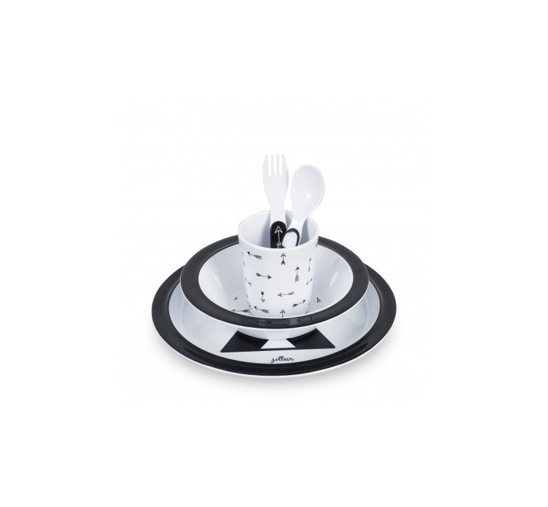 Komplet/Zestaw obiadowy - Indians - Jollein