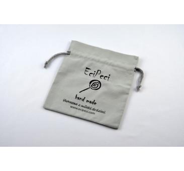 Woreczek Etui na Słuchawki Wygłuszające EciPeci - Szary