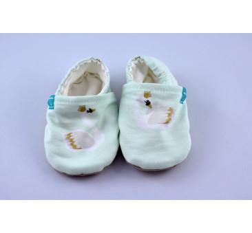 Mint Swan - rozmiar 3-9 miesięcy - Papcie Titot
