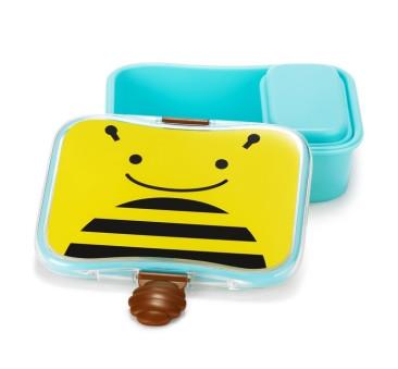 Pudełko Śniadaniowe - Śniadaniówka - Zoo Pszczoła - Skip Hop